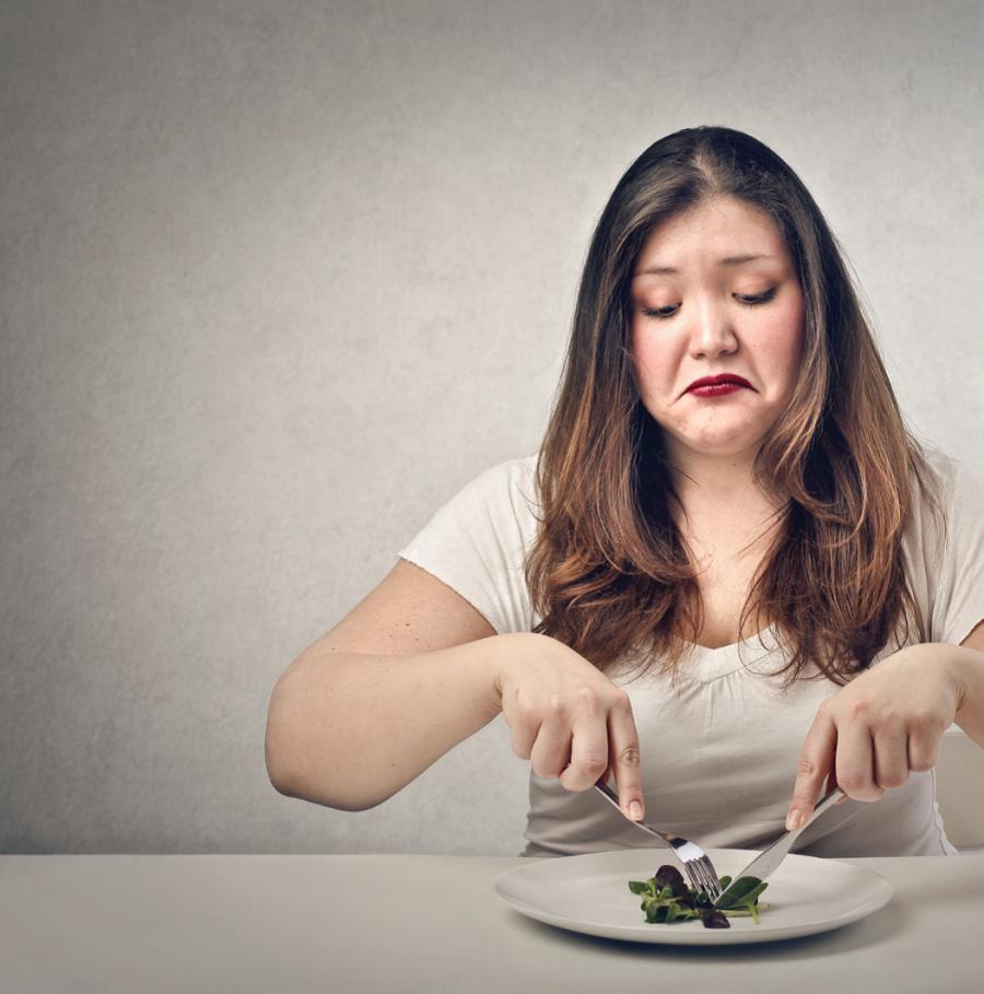 E se ti dicessi che dovresti smettere di stare a dieta?