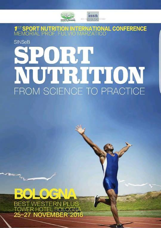1st Sport Nutrition International Conference: from science to practice.