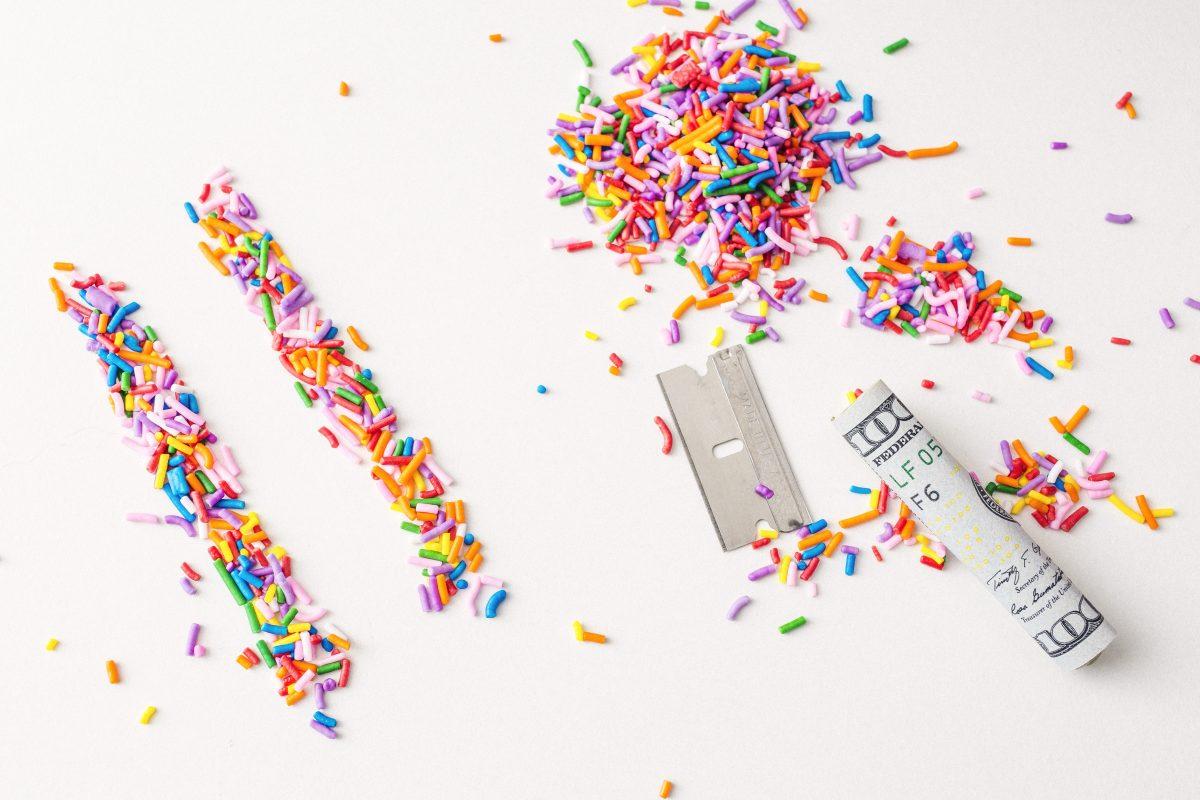 Le cattive abitudini e l'esperimento delle M&Ms