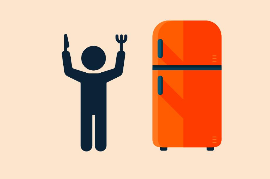 Cinquanta aperture di frigo: come combattere la fame nervosa.